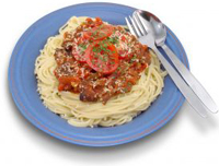 spaghetti dinner menu ideas